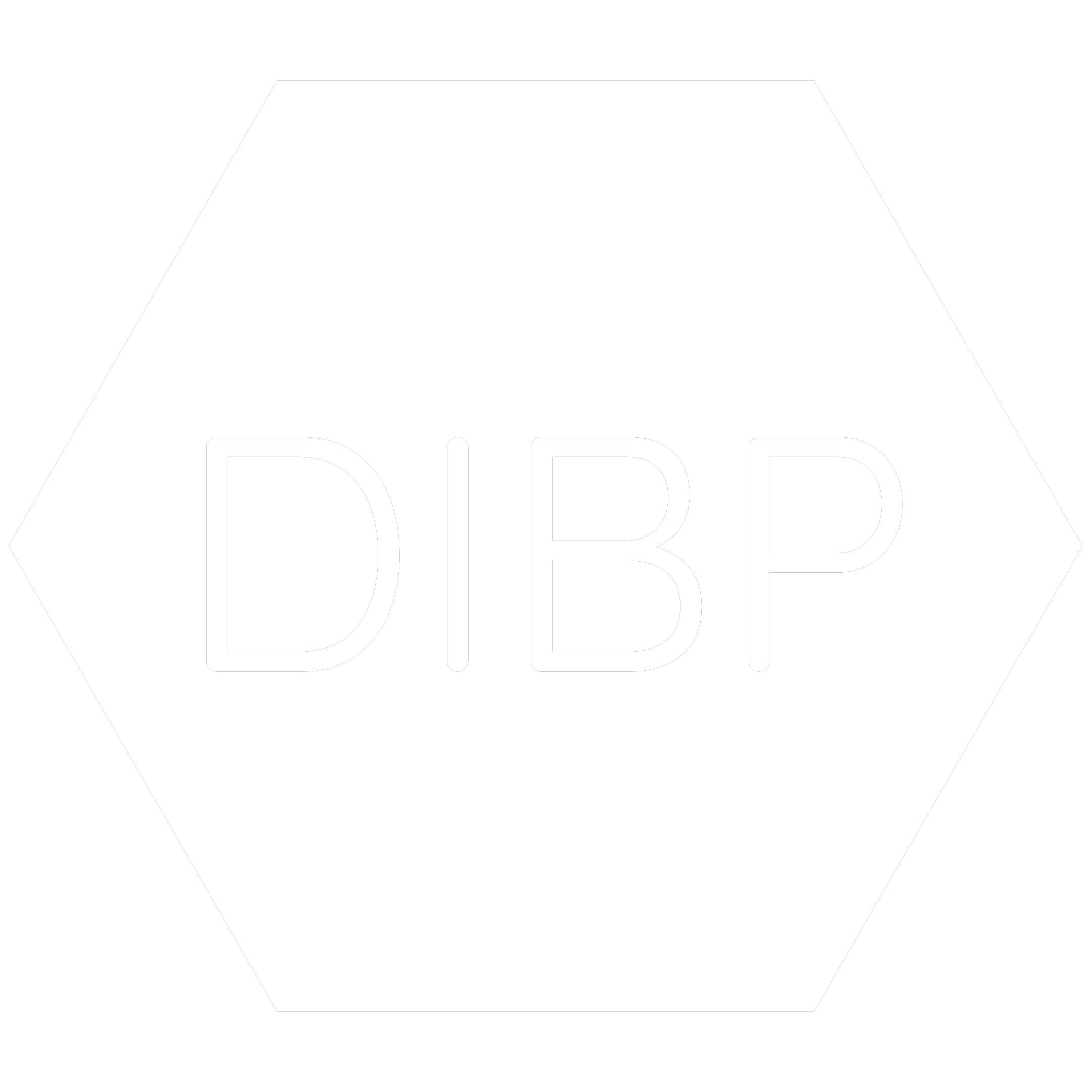White hexagon icon with the chemical symbol for Diisobutyl Phthalate which is a banned RoHS substance.